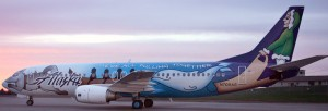 Spirit of Alaska Statehood 737-400. Photo copyright Alaska Airlines