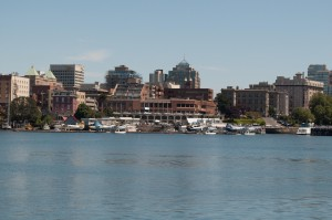 Floatplanes at Victoria Inner Harbour Airport (YWH)