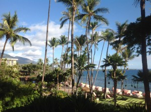 View From Suite at Hyatt Regency Maui