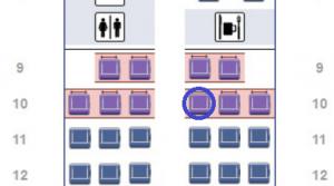 AA 757-200 Seat Map