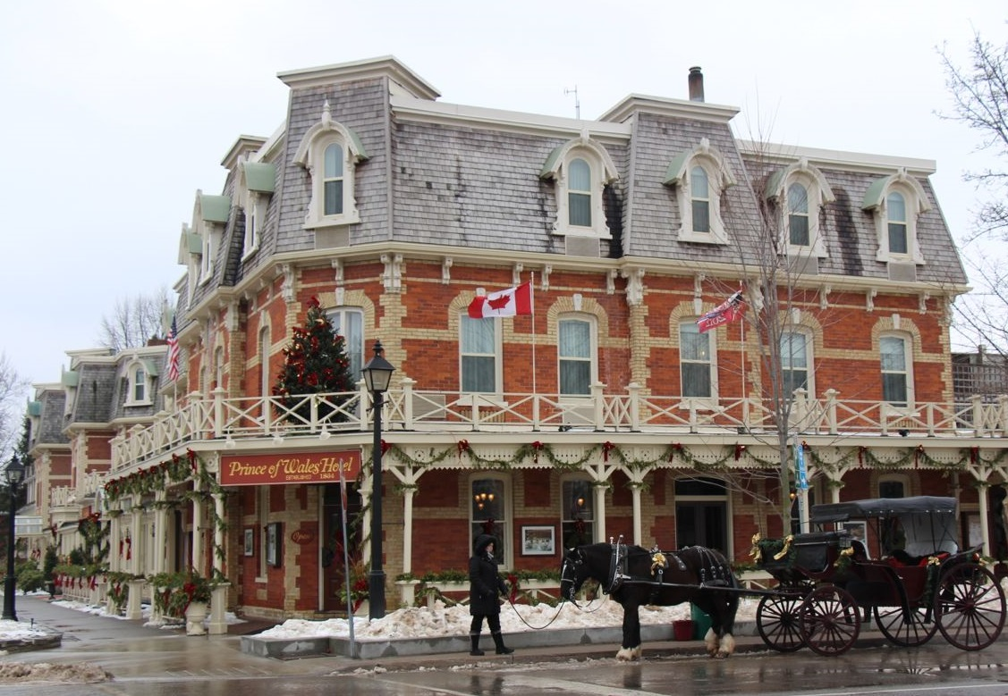 Niagara-on-the-lake And Prince Of Wales Hotel