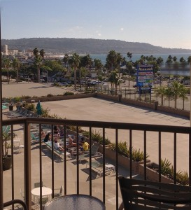 View of Redondo Beach Pier from Balcony