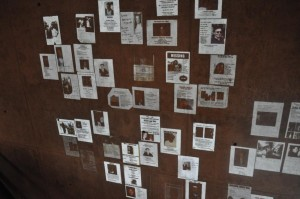 Montage of Missing Persons flyers