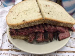 Pastrami on Rye at Katz's Deli