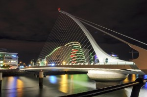 Dublin Convention Centre & Samuel Beckett Bridge