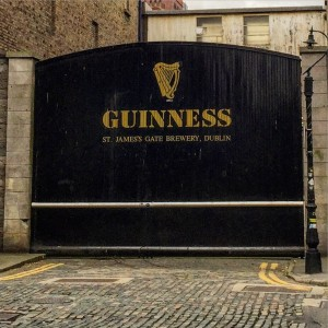 Arrival to the Guinness Storehouse