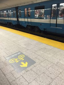 Montreal Metro - notice the rubber tires?