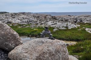Balancing Rocks at Peggy's Cove