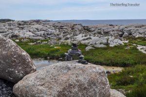 Balancing Rocks at Peggy's Cove