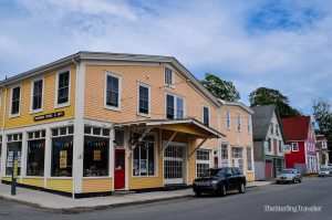 Colonial style buildings in Lunenburg