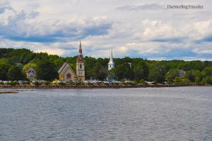 Three Sisters in Mahone Bay