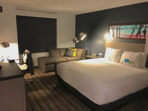 Room with King Bed and chaise at Hyatt House Irvine