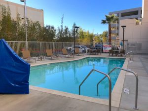 Pool at the Hyatt House Irvine