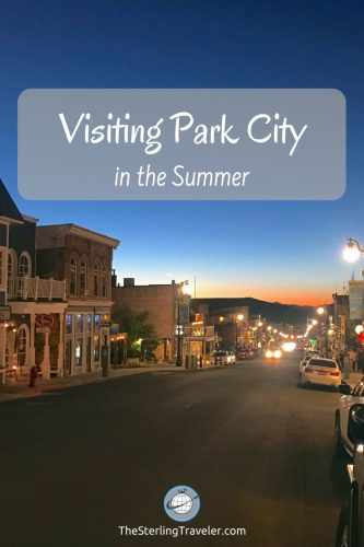 visiting Park City Utah in the Summer #parkcity #summertravel #adventuretravel #utah #visitparkcity #parkcityutah #olympicpark #golfparkcity