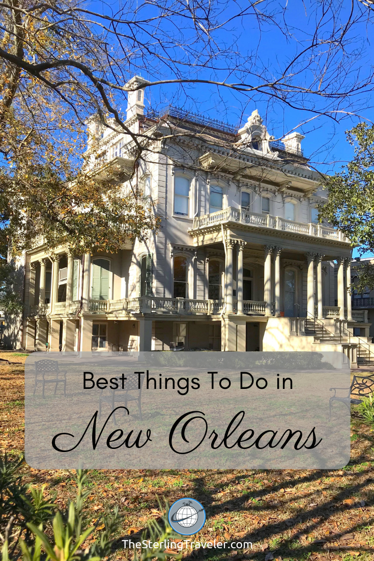 The best 3 day itinerary for New Orleans. What to do in a weekend in New Orleans #nola #travelneworleans #neworleans #thingstodo #whattodo #travel #travelguide #gardendistrict #frechquarter #cemeteries #jazzmusic #voodoo